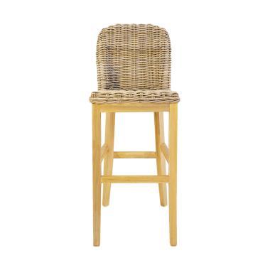 VIE FOR LIVING Bar Chair Rattan