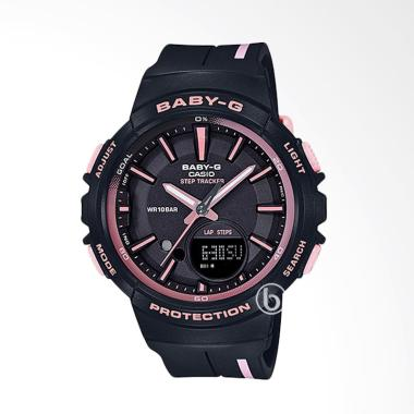 CASIO Baby-G BGS-100RT-1A Step Trac ... gan Wanita - Black Purple