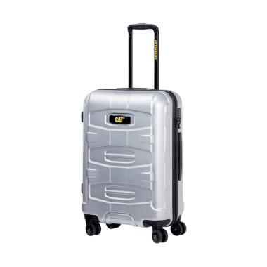 Cat Tank Cargo Luggage Trolley Bag - Starlight Silver [18 Inch]