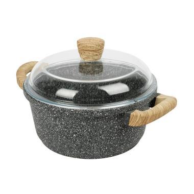DEBELLIN Casserole Peralatan Memasak - Greystone [24 cm]