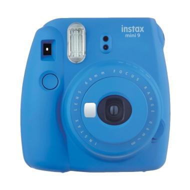 harga Fujifilm Instax Mini 9 Shibuya Package Kamera Pocket - Cobalt Blue Blibli.com