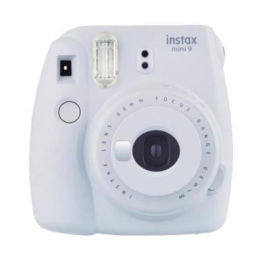 Fujifilm Instax Mini 9 Shibuya Package Kamera Pocket - Smoky White