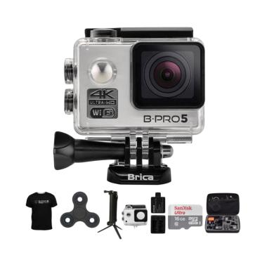 Brica B-PRO 5 Alpha Edition 2 AE2 C ... in Action Camera - Silver
