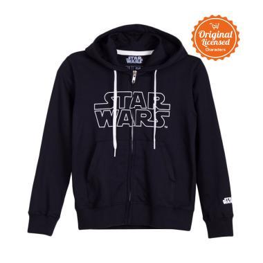 58f2ce645 Star Wars Hoodies Logo Kids Jaket Anak Laki-laki - Black
