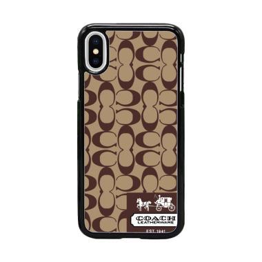 Acc Hp Coach Original Bag W5108 Custom Casing for iPhone X
