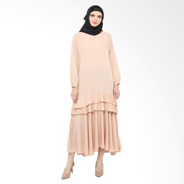 Xq Moslem Wear Declasia Gamis - Brown