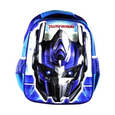 Ellenov Motif Head Transformer Tas Ransel Sekolah Anak