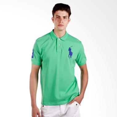POLO RALPH LAUREN Custom Fit S-S Po ... ler Green - X04A02E05GX -
