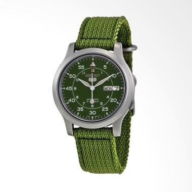 Seiko 5 Military Automatic Jam Tangan Pria - Green [SNK805K2]