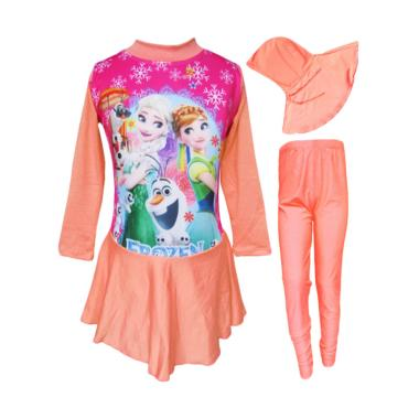 Rainy Collections Karakter Frozen B ... im Anak - Peach [Size TK]