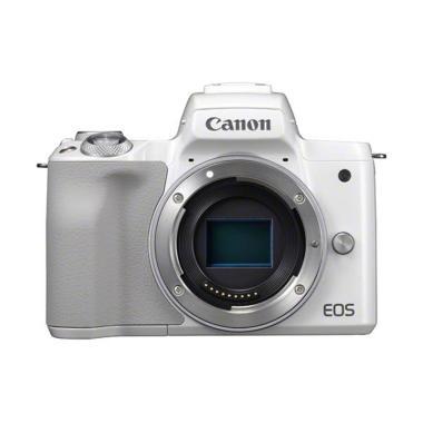 Canon EOS M50 Body White jpckemang GARANSI RESMI