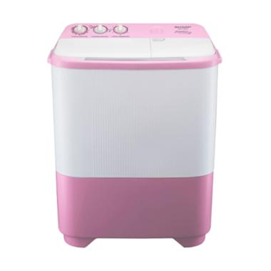 harga SHARP ES-T99SJ PK Mesin Cuci 2 Tabung - Pink [9 kg] Blibli.com