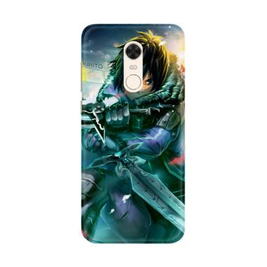 Flazzstore Sword Art Online Kirito  ... g for Xiaomi Redmi 5 Plus