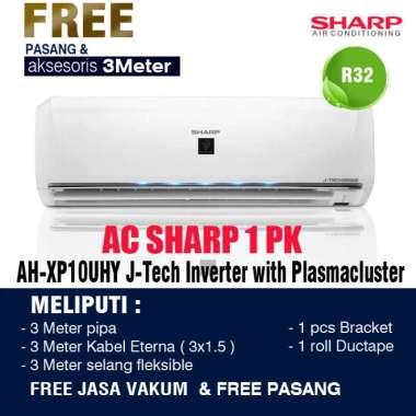 AC SHARP INVERTER PLASMACLUSTER 1/2PK - 1PK Tipe XP - UHY 1PK XP - 10UHY