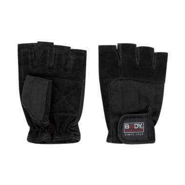 Body Sculpture Spandek Leather Fitness Gloves