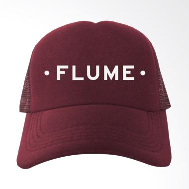 IndoClothing Flume Topi Trucker - Maroon
