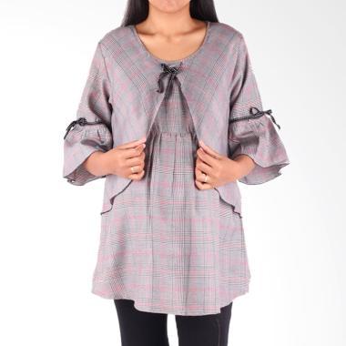 HMILL 1599 Baju Blus Ibu Hamil - Hitam