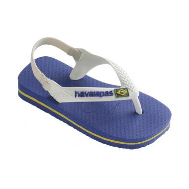 Havaianas Brasil Logo Cf 2711 Baby Sandals - Marine Blue