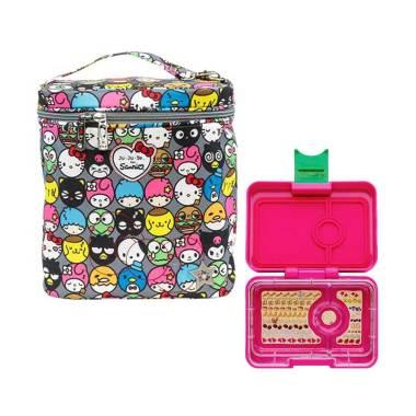 JUJUBE for Sanrio Fuel Cell Hello F ... k Kotak Makan Anak - Pink