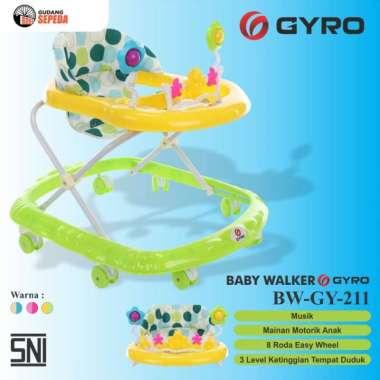 harga Baby Walker Bayi Gyro BW GY 211 Kereta Dorong Balita Musik Mainan SNI Hijau Blibli.com