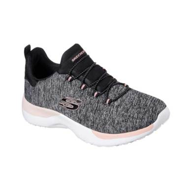 Skechers Dynamight Breakthrough W S ... ahraga Wanita [12991BKCL]