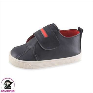 harga Jual LUSTY BUNNY Sepatu Bayi Prewalker Sol Karet PS2085 - 130 mm HITAM Berkualitas Blibli.com