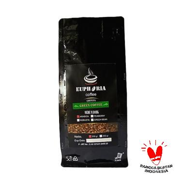 Euphoria Coffee : Grade 1 Green Coffee Arabica Kopi Hijau [200 g]
