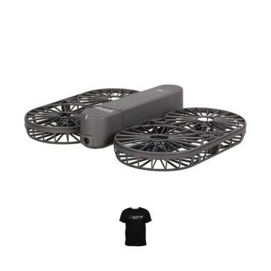 Brica INVRA 5 Hybrid HD 4K AirSelfie Drone - Black + Free T-Shirt