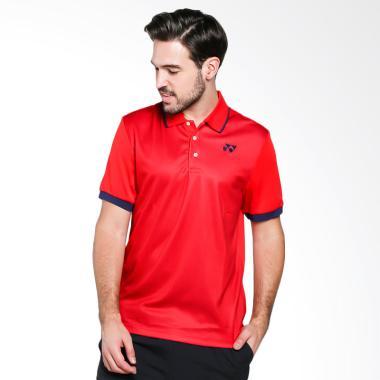 YONEX Men Polo T-Shirt Baju Olahrag ... ed [PM-G017-904-28B-17-S]