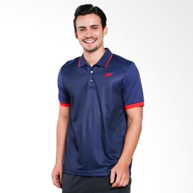 YONEX Patriot Men Polo T-Shirt - Blue [PM-G017-904-28B-17-S]