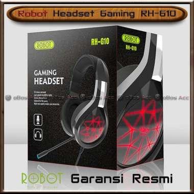 harga Headset Gaming Robot RH-G10 Microphone Mic For PC Windows Stereo Headphone Earphone Original Blibli.com