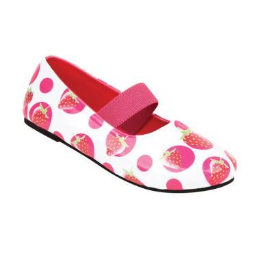 Zeintin ZSAP04 Sepatu Anak Perempuan - Putih