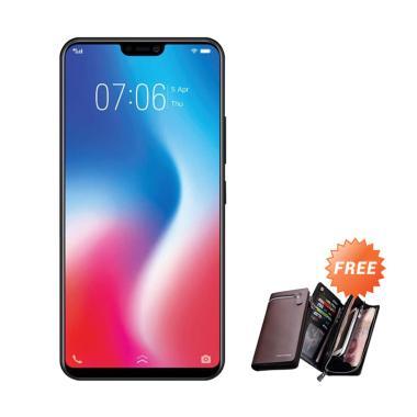 VIVO V9 Smartphone - Black [64GB/ 4GB] + Free Dompet