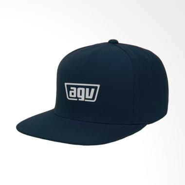 IndoClothing AGV Topi Snapback Pria - Navy
