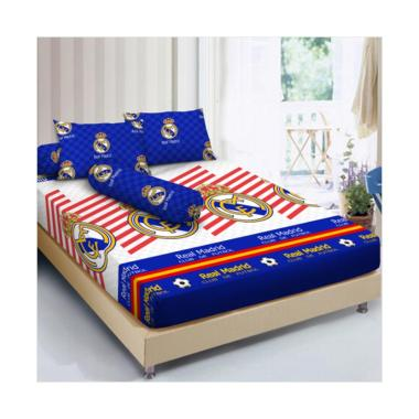 Kintakun Dluxe Real Madrid 2017 Set Sprei - Putih