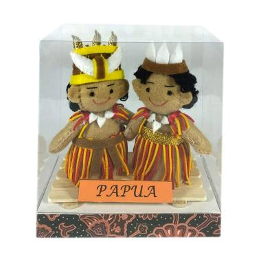 MMS Boneka Pakaian Adat Papua
