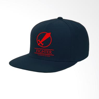IndoClothing Mobile Legends Fighter Topi Snapback - Navy