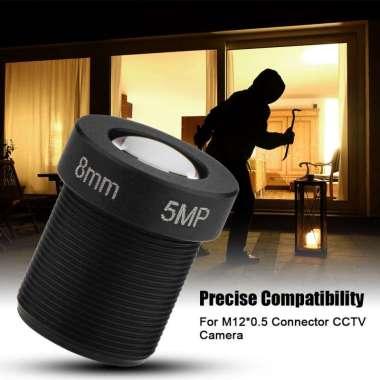 harga Lensa Kamera CCTV: 1 - 2.5 '' Mount 8mm Lensa 5MP untuk Kamera Keamanan Blibli.com