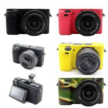 harga Armor Case Bahan Silikon dengan Lensa Kamera 16-50mm Untuk Sony Alpha A6000 - A6300 Blibli.com