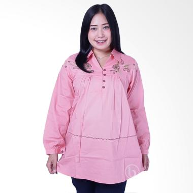 Mama Hamil BLJ 426 Muslim Kelly Baju Kerja Ibu Hamil - Pink