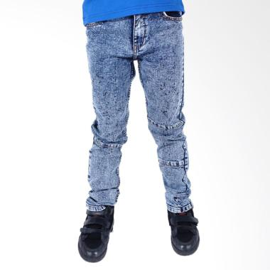 Kids Icon Batman Celana Jeans Anak Laki-Laki - Black Splash