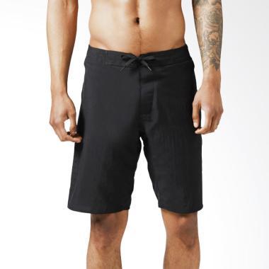 Reebok Epic 2 in 1 Mens Short Celana Fitness Pria - Black [BR9630]