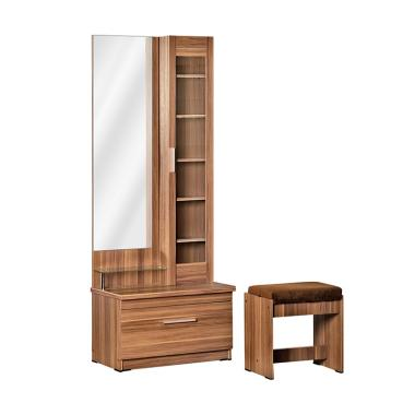 harga Benefit Diamond DT 126 Dressing Table Meja Rias - French Walnut Blibli.com