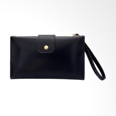 Paroparoshop Desti Wallet Dompet Wanita - Black