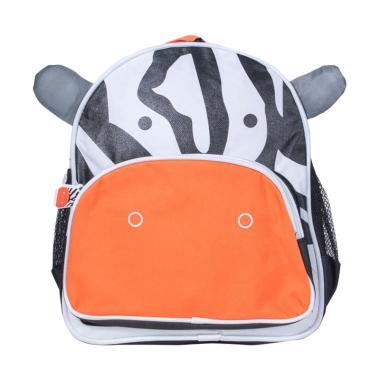 Animal Cow Tas Sekolah Anak - Putih
