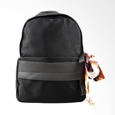 Paroparoshop Clarie Backpack Wanita - Black Grey