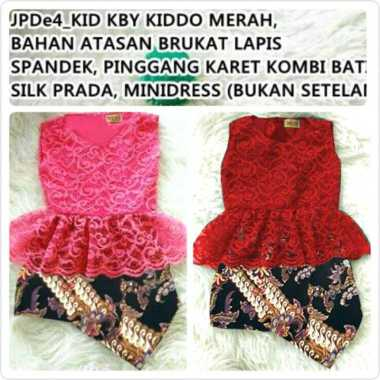 harga Unik Dress brukat batik baju anak girl IMPORT kids girl Murah Blibli.com
