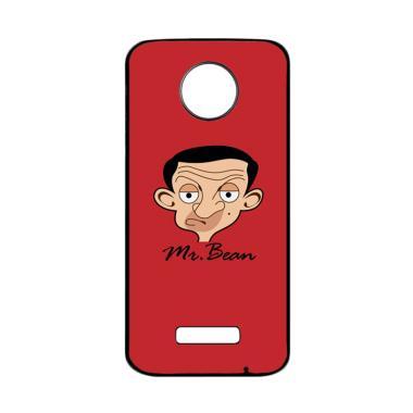 harga Bunnycase Mr Bean Flat Face L0539 Custom Hardcase Casing for Motorola Moto Z Force Blibli.com