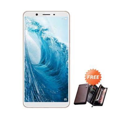 VIVO Y71 Smartphone - Gold [16 GB/ 2 GB] + Free Dompet