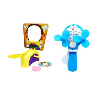 Momo toys 6188-1 Doraemon Mini Fan  ... e Boy Action Games - Biru